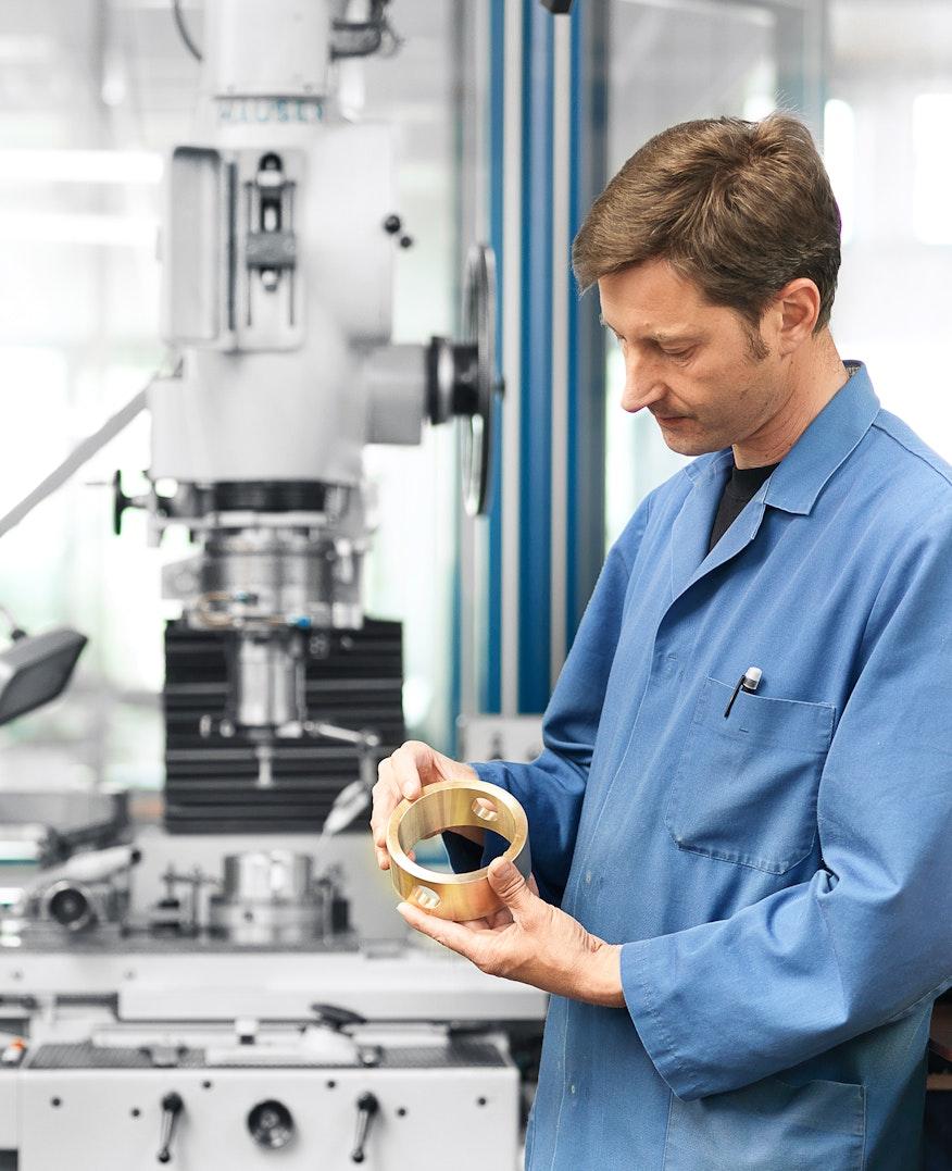 Schleiftechnik - Metallverarbeitung